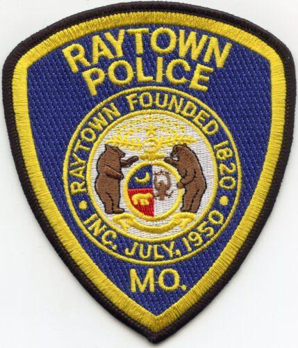 RAYTOWN MISSOURI MO POLICE PATCH