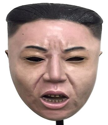 Rocket Man Halloween Costume ((HBGI) Dictator Kim Jong Un Halloween Latex Mask ROCKET MAN  Realistic)