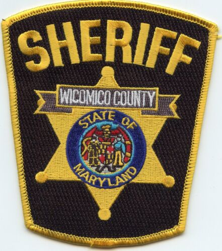 old style WICOMICO COUNTY MARYLAND MD SHERIFF POLICE PATCH