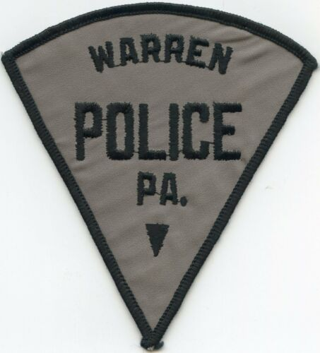 old vintage WARREN PENNSYLVANIA PA POLICE PATCH