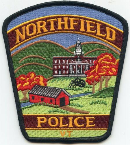 NORTHFIELD VERMONT VT Covered Bridge POLICE PATCH
