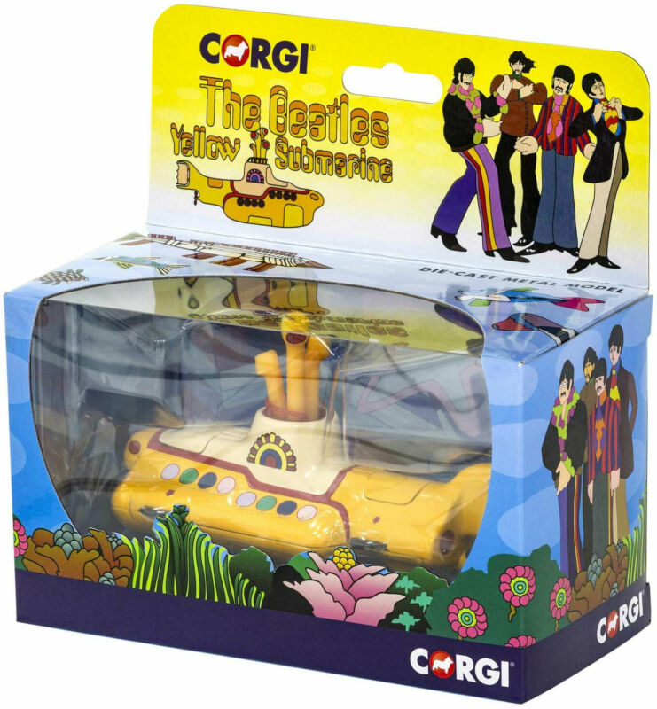 Corgi The Beatles Yellow Submarine Diecast Metal Model