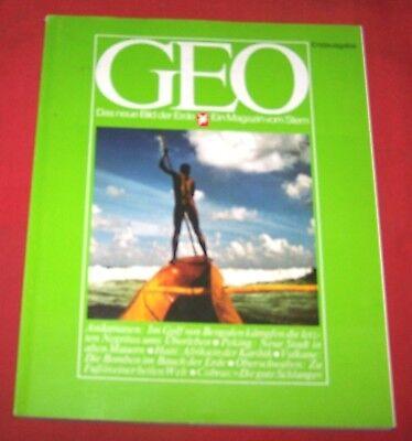 GEO 1976 Erstausgabe , Andamanen Peking Vulkane Cobras Oberschwaben Haiti