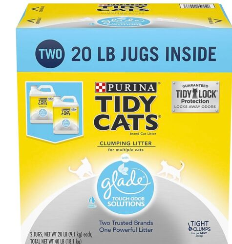 2 ct. Purina Tidy Cats Clumping Litter with Glade Twin Pack (20 lb., ) Litter
