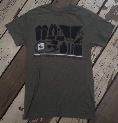 HippyTree Surf and Stone BEACH ESSENTIALS Men's VINTAGE BLEND Shirt SMALL