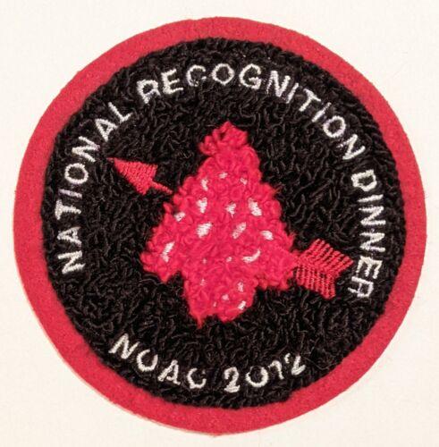 NOAC 2012 National Recognition Dinner Chenille OA DSA- Carl Marchetti Collection