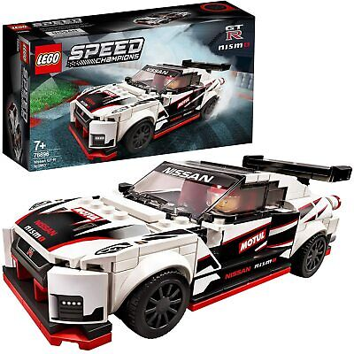 LEGO Speed Champions Nissan GT-R NISMO Racer Toy With Racing Driver Minifigure