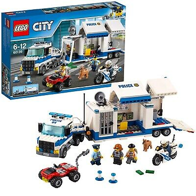 LEGO City Police Centro di Comando Mobile, Set di Costruzioni, 60139