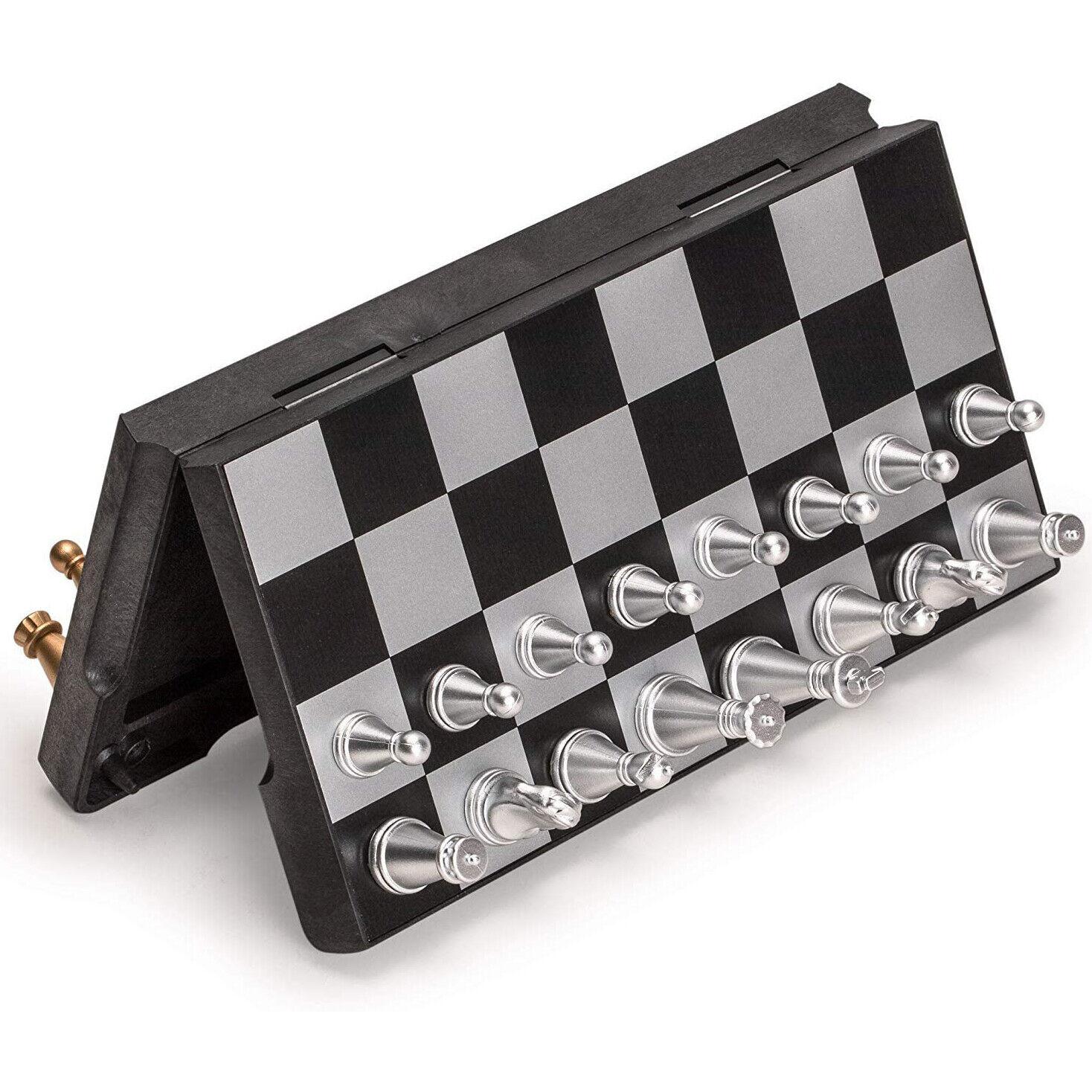 chess set magnetic folding chess board