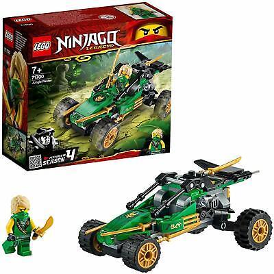LEGO 71700 Ninjago Legacy Season 4 Jungle Raider Buggy Vehicle Building Toy Set