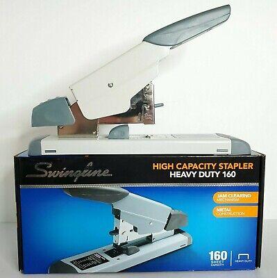Swingline High Capacity Heavy Duty 160 Stapler Off White 39002 2-160 Capacity