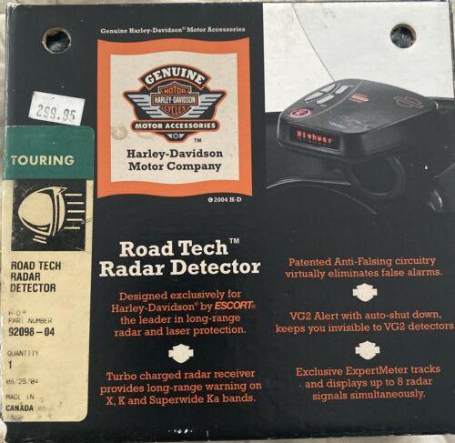 Harley Davidson Road Tech Radar Detector 92098-04 - NEW
