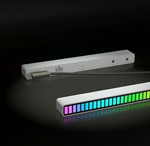 Musiclevel sound control colorful smart rhythm lamp RGB