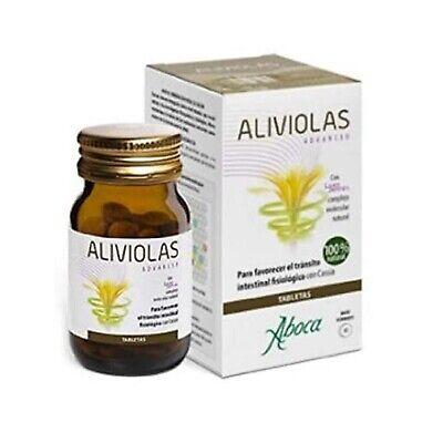 Complemento Alimenticio Aboca Aliviolas Advanced 45 tabletas Tracto Intestinal