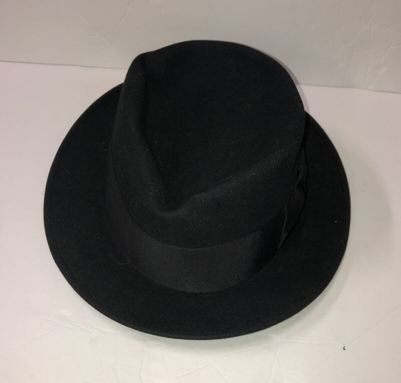 Vintage Royal Deluxe STETSON Hat The Black Lancer By Stetson Zimmerman