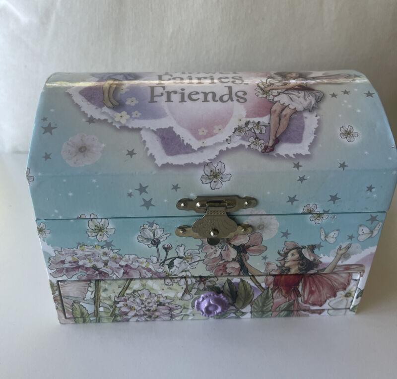 Flower fairies friends music jewelry box