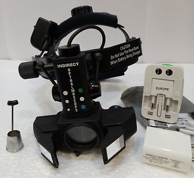 Indirect Ophthalmoscope Binocular Led And Rechargeable Battery Optometry