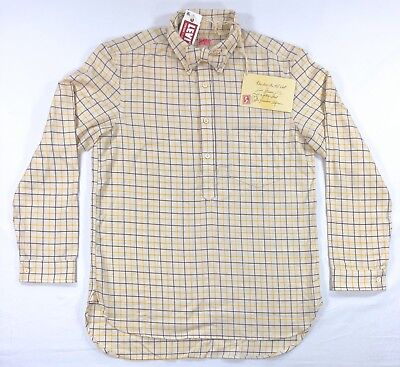Levis Vintage Clothing LVC 1920s Sunset Bow Tie Shirt Popover Button $285](1920s Mens Clothes)