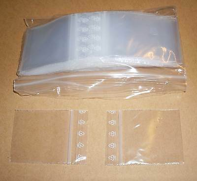100 Tütchen Polybeutel 40 x 40 Druckverschluss Druckverschlussbeutel Zip Tüten
