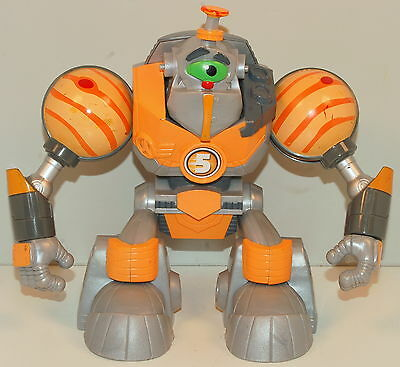 "2006 Gustus Jupiter #5 Mattel 6.5"" Planet Heroes Action Figure Toy"