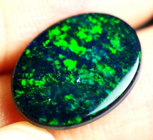 Beautiful Australian Natural Andamooka Opal Doublet 16x12x4 mm
