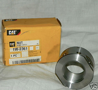 Cat Nut Part 1w-2361 Nut-cylinder Head New Old Stock 1w2361
