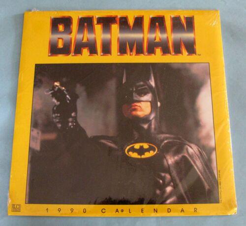 1990 - BATMAN MOVIE CALENDAR - KEATON, BASINGER, NICHOLSON - LANDMARK - SEALED