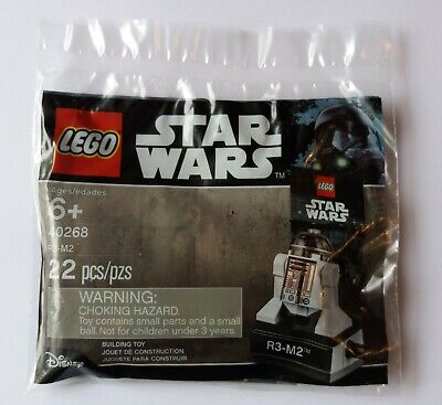 Lego Star Wars 40268 R3-M2 Droid - Brand New & Sealed Polybag - Rare