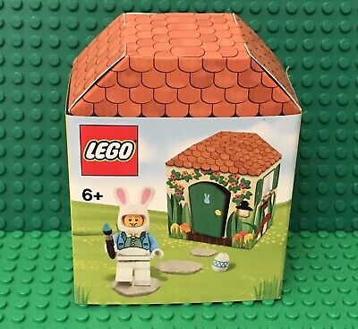 Lego New Iconic Easter 5005249 / Bunny Hut Mini Figure Set