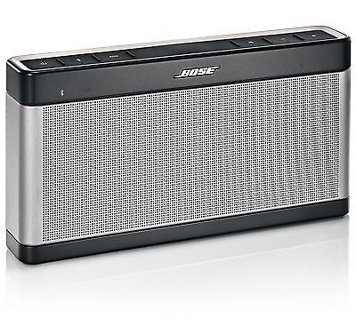 NEW BOSE SOUNDLINK BLUETOOTH SPEAKER III - WIRELESS SOUND LINK PORTABLE on Rummage