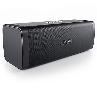 DOCKIN D Fine Bluetooth Speaker 50W Stereo Lautsprecher Wasserschutz 10 h Akku online kaufen