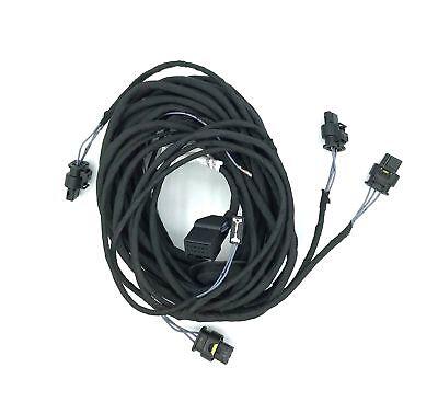 Cable Loom Pdc Park Pilot Sensor Rear Bumper Rear Vw T5 Gp 13-15
