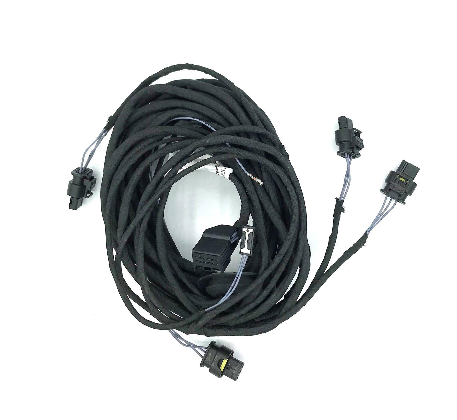 Original Kufatec Adapter Kabelbaum PDC Sensor hinten für Audi A4 8K A5 8T Q5 8R