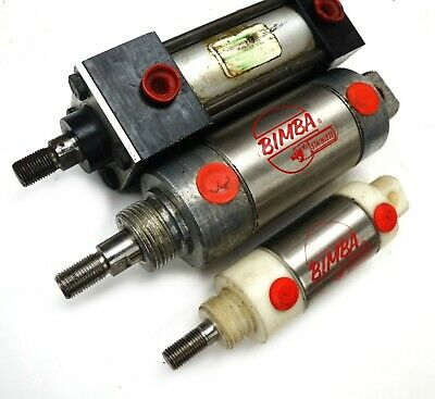 Lot Of 3 New Bimba Speedaire Pneumatic Ss Cylinders 1-12 1-12 2 Bore