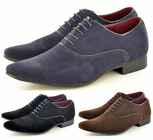 Mens-Leather-Lined-Pointed-Toe-Winkle-Pickers-Formal-Office-Shoes-UK-Size-6-11