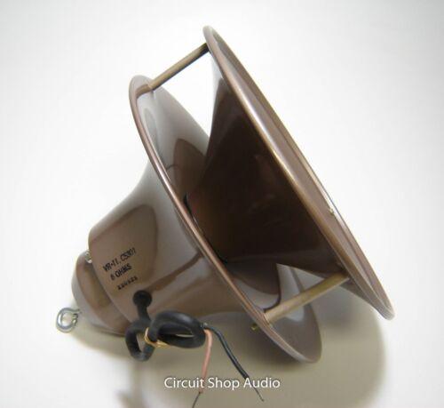 NOS Jensen Hypex PA / Paging Horn Speaker / VR-11 / 8 Ohm