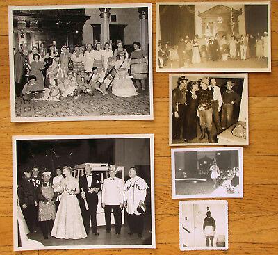 SAN FRANCISCO MASONIC FORMAL BALL & HALLOWEEN PARTY ~ (21 PHOTOS)  - 1958 - Halloween Parties San Francisco