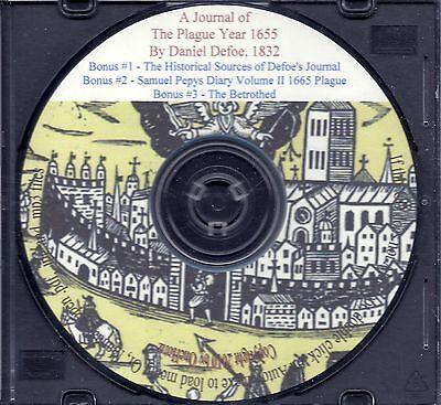 Journals of The Plague Year of 1665 + Bonus Books