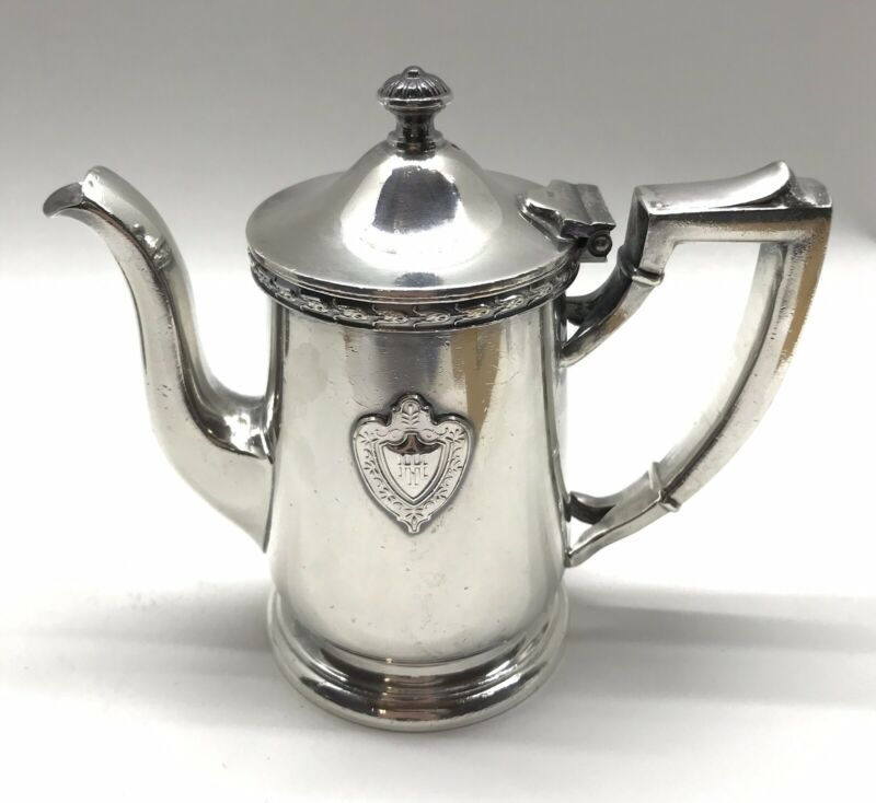 Desher-Hilton Hotel Columbus OH Vintage Restaurant International Silver Teapot