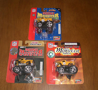S MINI MONSTER TRUCKS  2004 2005 - DIFFERENT (Mini-monster-trucks)