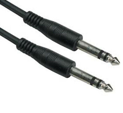 DC Pro 6.3mm 1//4 Amphenol TS Mono to Speaker Wire Receiver Headphone 15 ft.