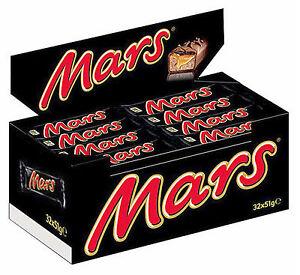 1632g MARS Riegel im Thekendisplay 32x51g Schokoladenriegel  MHD: 11.05.17