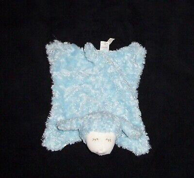 Baby Gund WINKY Blue Mini Comfy Cozy Satin Blanket Security Lovey 320418