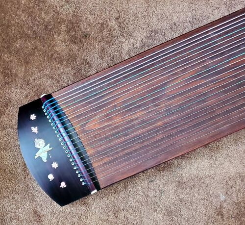 "49"" Travel Guzheng Harp Chinese instrument zither Koto 21-String #02503"