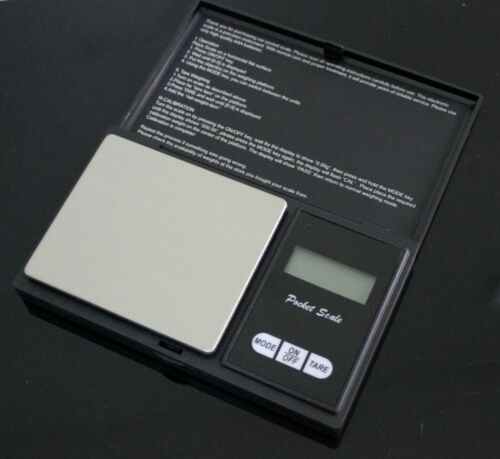 Digital Pocket Scale 0.1 Precision Jewelry Gold Silver Coin Gram 1000g x 0.1g