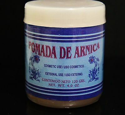 Pomada De Arnica (Arnica Ointment) 3.5oz For Aches, Bruises, Sprains