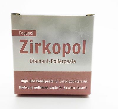 Dental Zirkopol Polishing Paste Feguramed Diamond Handpiece Polishing 30gr