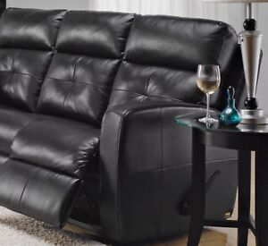 Reclining loveseats x 2 / very high end full leather