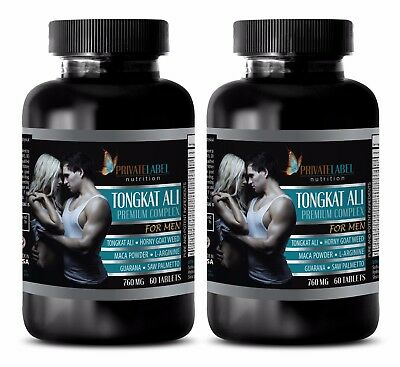 Muscle Growth   Tongkat Ali Premium Complex  2B   Horny Goat Weed Dietary Supple