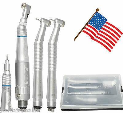 Dental Nsk Style 4 Hole Push Button Turbine Fast High Slow Low Speed Handpiece